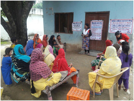 COMMUNITY SENSITIZATION - METTINGS WITH WOMEN